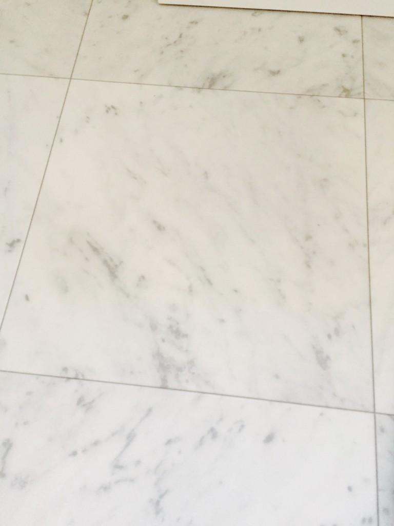 WEB内覧会 トイレ アクセントクロス クッションフロア