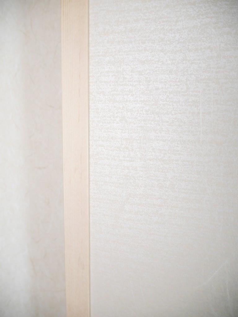 和室 3畳 モダン モダン風 アクセントクロス