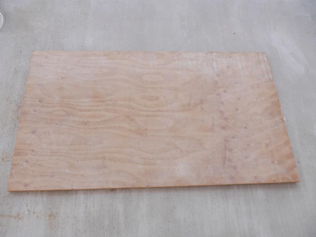 ダイニングテーブル カフェ風 DIY 手作り 天板