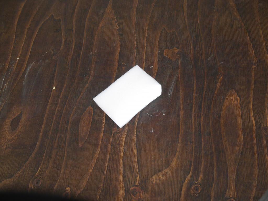 ダイニングテーブル カフェ風 DIY 蜜蝋ワックス アイアン脚