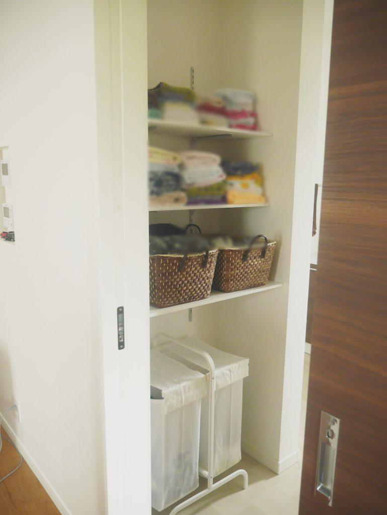 DIY 収納棚 ロイヤル 棚柱 洗面所