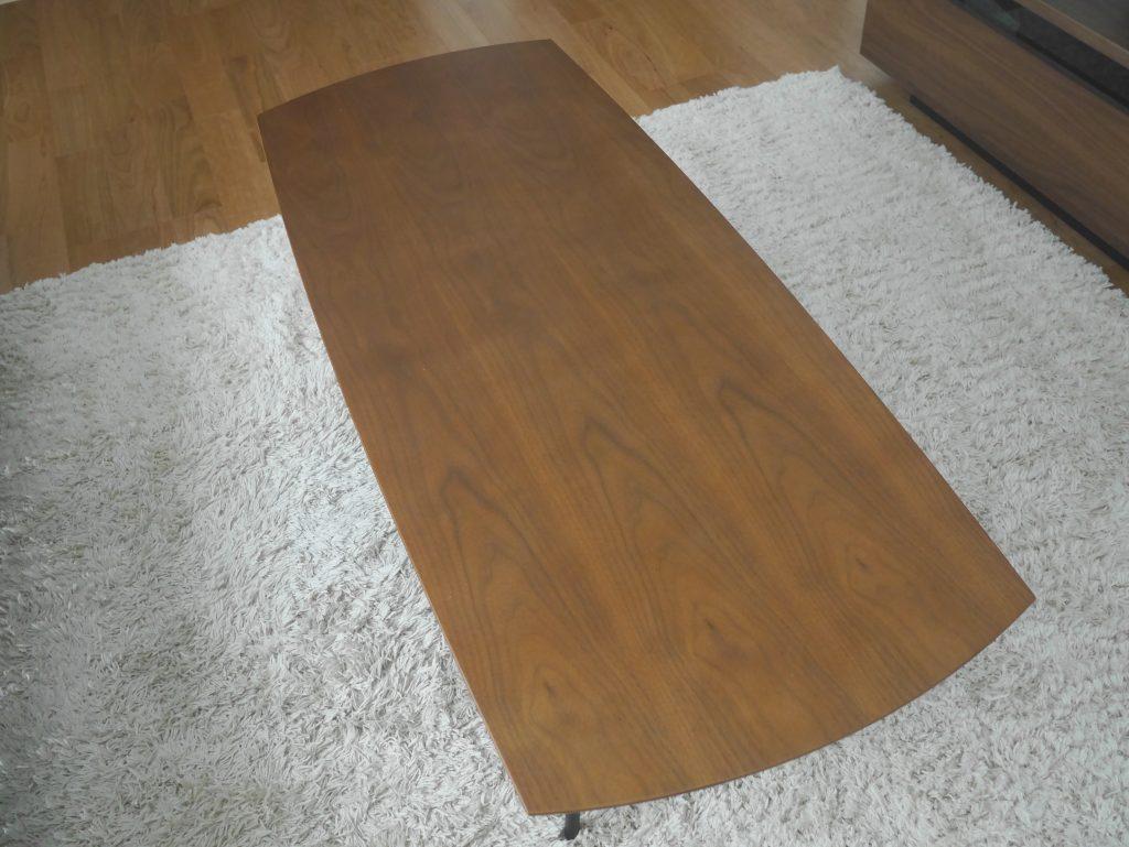 リビングテーブル カフェテーブル ローテーブル ウォールナット リビング