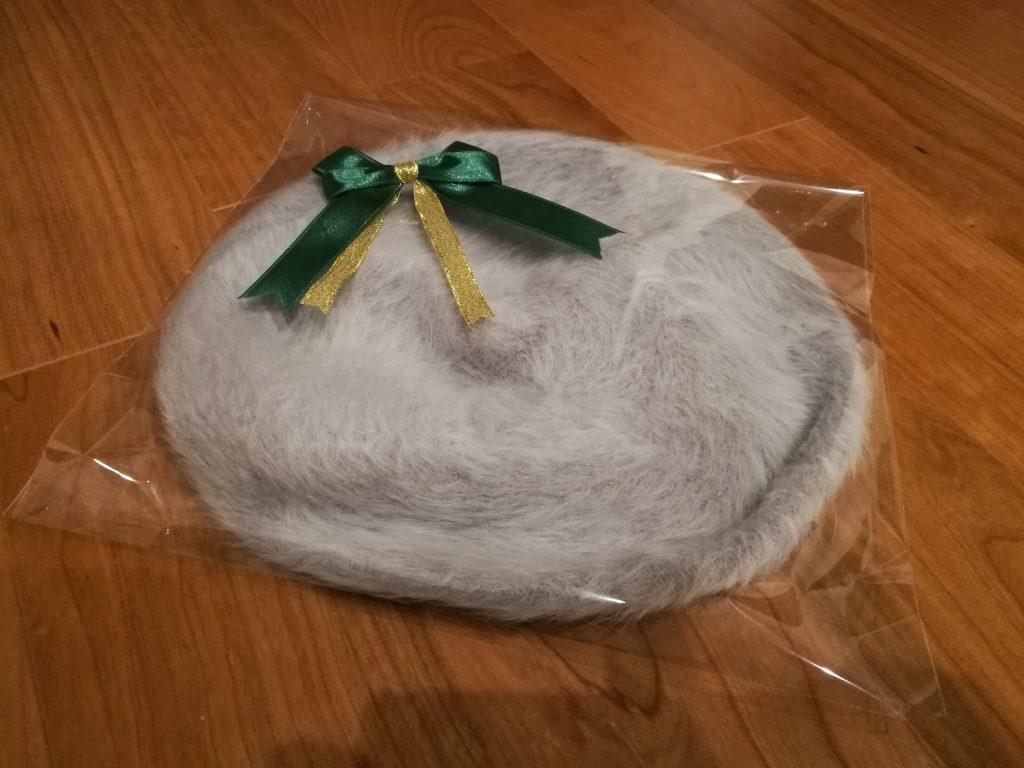 クリスマスプレゼント ベレー帽